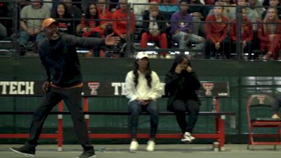 Mic'd Up: Coach Flo At Big 12 Indoors