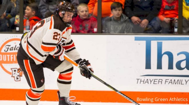Alec Rauhauser Key For No. 15 Bowling Green's WCHA, NCAA Tournament Hopes
