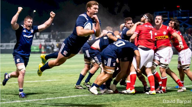 Ruben Soars For Eagles: USA 30 Canada 25
