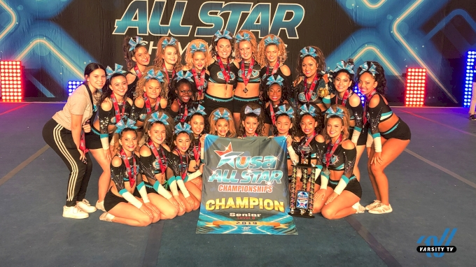 SCV All Stars Senior Blue On Top!