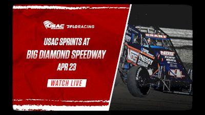 Full Replay | USAC Keystone Invasion at Big Diamond 4/23/21
