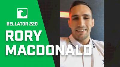 Rory MacDonald Talks Fitch, Usman, Conor McGregor Retirement