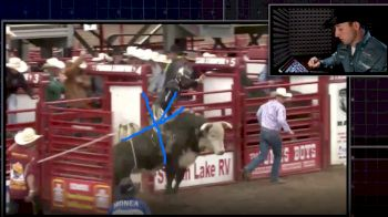 Sage Kimzey & The 'All Important First Jump' From His Ride At The Ponoka