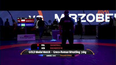 72kg Gold - Gevorg Sahakyan, POL vs Mirzobek Rakhmatov, UZB