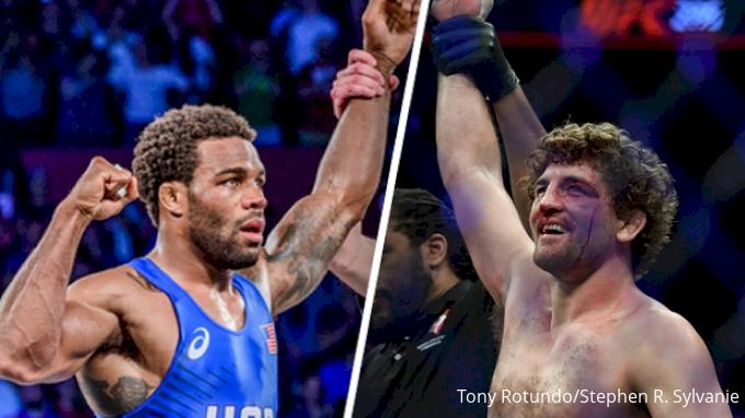 b47d9b4ec731dd Will Jordan Burroughs   Ben Askren Wrestle At Beat The Streets NYC