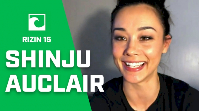 Shinju Auclair Talks RIZIN 15