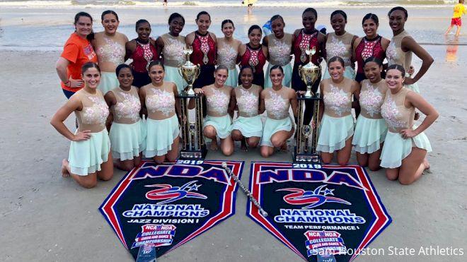 Sam Houston Orange Pride Double Titles At NDA
