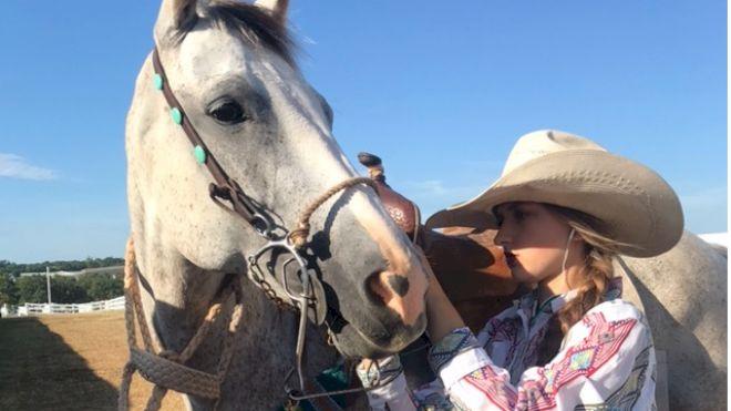 Rising Star: Kagan Davis, 15-Year-Old Barrel Racer And Pole Bender