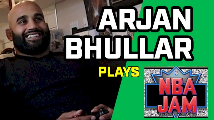 Arjan Bhullar Plays NBA Jam