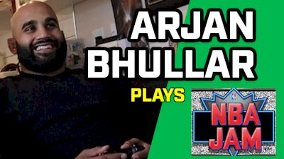 Arjan Bhullar Plays NBA Jam, Talks Juan Adams Fight