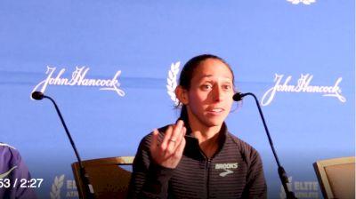 Des Linden Recounts How Degefa's Hard Move Affected Her Race