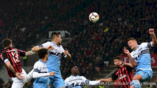 AC Milan, Lazio Square Off In Coppa Italia In Game Filled With Bad Blood