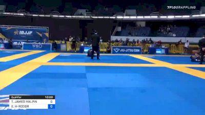 THOMAS JAMES HALPIN vs EMILIO ALEJANDRO HERNANDEZ-RODGR 2019 World IBJJF Jiu-Jitsu No-Gi Championship
