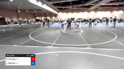 65 kg Consolation - Gabriel Onorato, Pennsylvania RTC vs Lee Mauras, New York