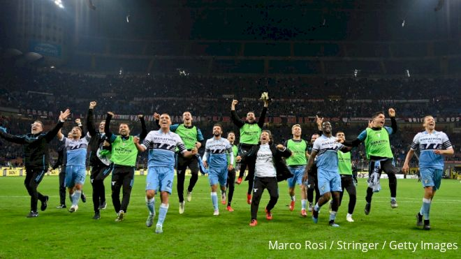 Lazio Fan Behavior Overshadows Inspired 2nd Half At San Siro In Coppa Semis
