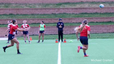 Eagle Women Prep For Barbarians