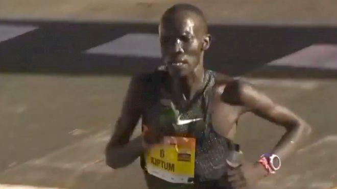 Half Marathon WR Holder Kiptum Suspended For Doping Violation