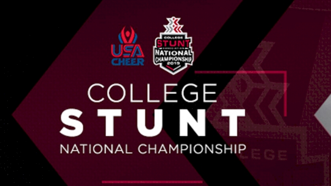 picture of 2019 College STUNT National Championship
