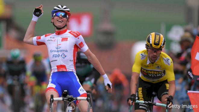 Upstart Gaudu Wins Romandie Stage 2, Closes In On Roglic