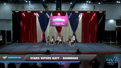Stars Vipers Katy - Rainboas [2021 L2 - CheerABILITIES - Exhibition Day 2] 2021 The American Spectacular DI & DII