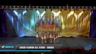 Cheer Florida All Stars - Sirens [2021 L3 Junior - Small Day 2] 2021 The STATE DI & DII Championships