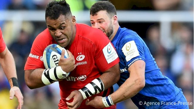 Vunipola Charge Carries Saracens To Euro Glory