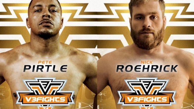 V3Fights 74 Recap: Teddy Holder Upset, Nick Roehrick Dominates