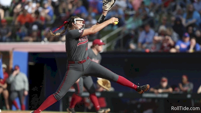 Proof Is In The Pitching, Alabama Hurler Montana Fouts Aims For WCWS