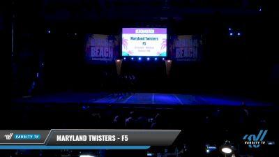 Maryland Twisters - F5 [2021 L6 Senior - Medium Day 2] 2021 ACDA: Reach The Beach Nationals