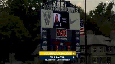 Replay: Colorado College vs Villanova | Aug 27 @ 3 PM