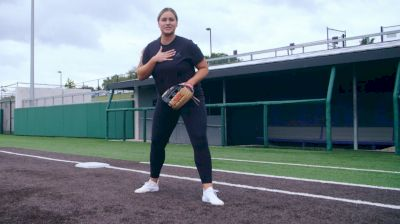 Lauren Chamberlain - First Base Footwork