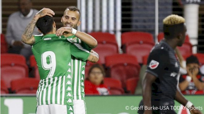 Real Betis Take Goal Fest Over D.C. United