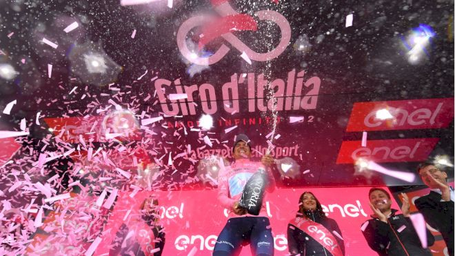 Richard Carapaz Takes The Stage and Top GC Spot in Courmayeur
