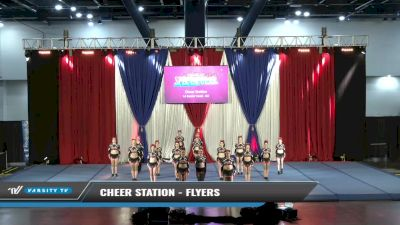 Cheer Station - Flyers [2021 L4 Senior Coed - D2 Day 1] 2021 The American Spectacular DI & DII
