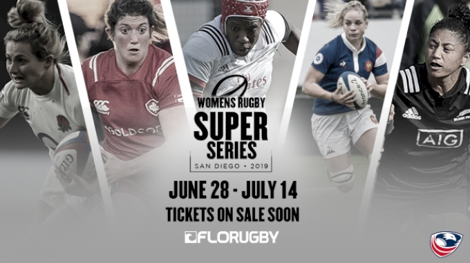 picture of 2019 Women's Super Series: England vs USA