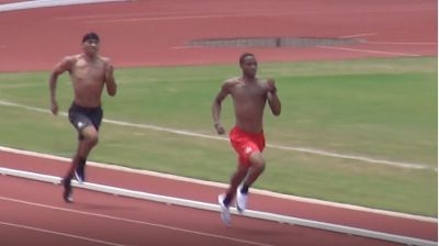 SPEED CITY EXTRA: Kahmari Montgomery's 350m Time Trial