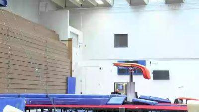 Allan Bower - Vault, University of Oklahoma Mens Program - 2021 Men's Olympic Team Prep Camp
