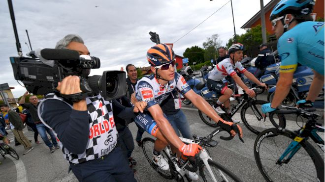 Break Man Damiano Cima Survives By A Bike Length, Winning Stage 18