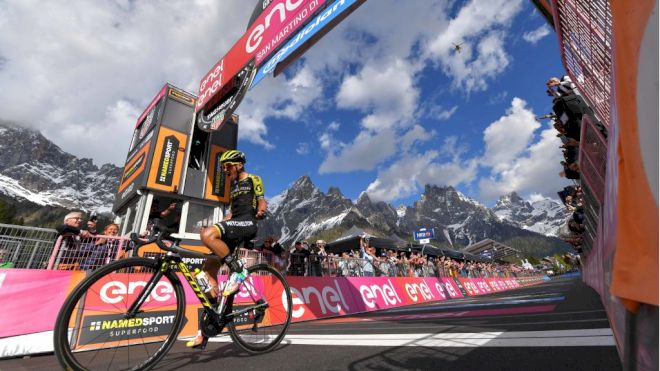 Esteban Chaves Attacks Again and Again For Stage 19 Victory