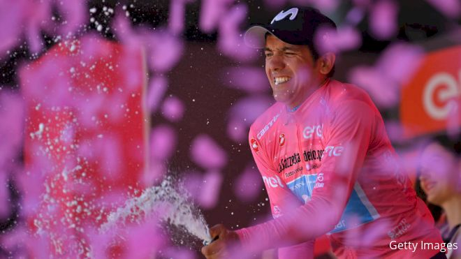 Carapaz On Brink Of Giro Victory As Tempers Fray On Eve Of Finish