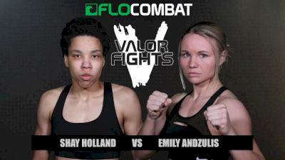 Shay Holland vs. Emily Andzulis - Valor Fights 47