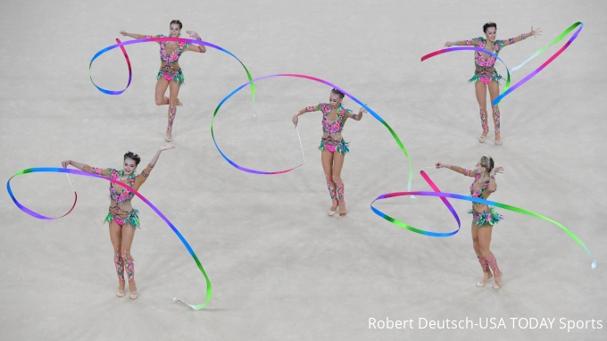 picture of 2019 FIG Rhythmic Gymnastics Junior World Championships