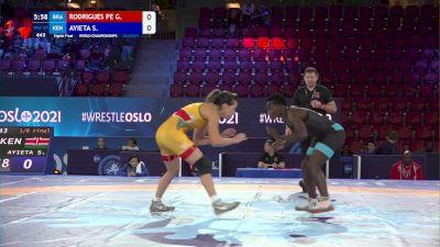 57 kg 1/8 Final - Giullia Rodrigues Penalber De Oliveira, Brazil vs Sophia Ayieta, Kenya