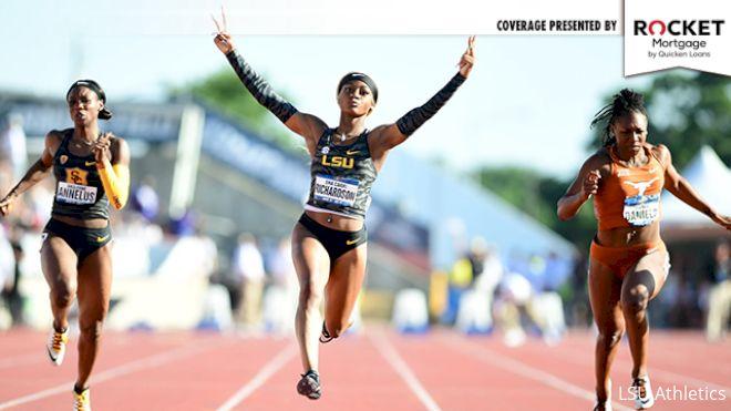 After Star NCAA Turn, Sha'Carri Richardson Unsure On Pro Status