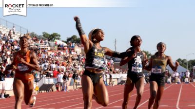 TASTY RACE: LSU's Sha'Carri Richardson 100m NCAA Record 10.75!