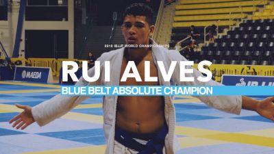 WORLD CHAMP: Rui Alves Lapel Highlight