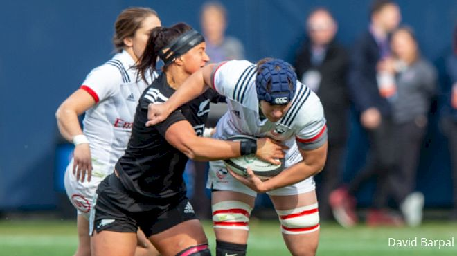 Resilient Black Ferns Captain Elder Leads By Example