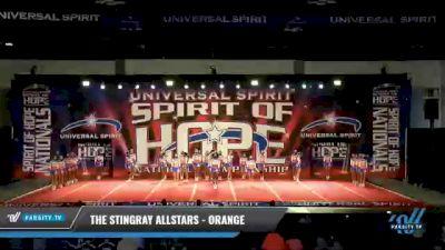 The Stingray Allstars - Marietta - Orange [2021 L6 Senior Large] 2021 The MAJORS