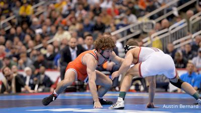 133 lbs, Daton Fix, OK. State vs Nick Suriano, Rutgers
