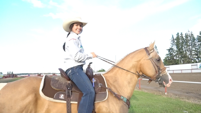 Hailey Kinsel Leads Ponoka